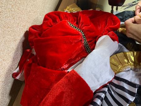 ハチキレソウなクリスマス衣装で、コンサートへ出張 行ってきました。