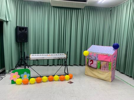 配信コンサート 子育て支援さんとイベント開催しました!