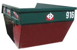 Geeignet für schwere Abfälle wie Beton, Bauschutt, Asphalt oder auch für die Bereitstellung von Naturmaterialien wie Kies, Splitt oder Sand