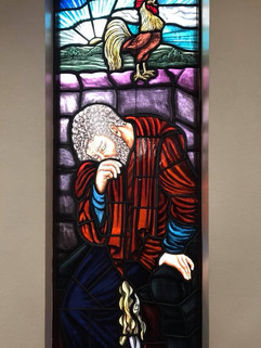 Reconciliation and Penance Stained Glass Window