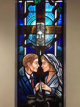 Matrimony Stained Glass Window