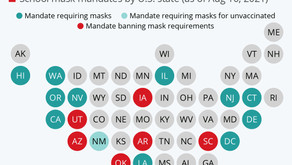 Where Schools Have to Follow Mask Mandates