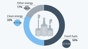 Fossil Fuel Investments Persist