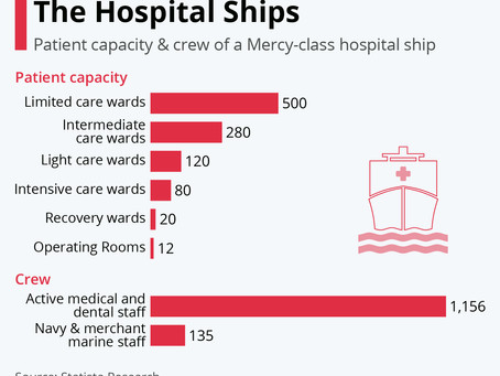The Numbers Behind The Hospital Ships