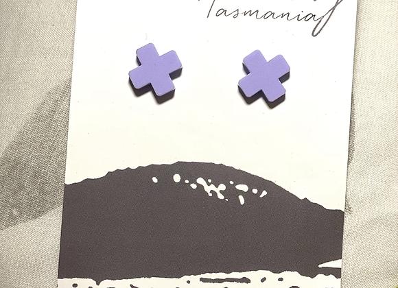 Purple Crosses