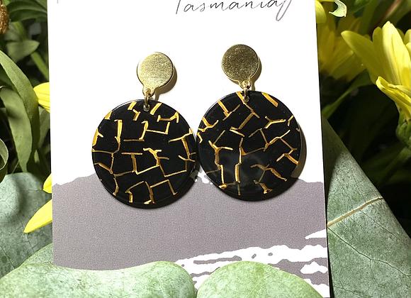Crackle Earrings