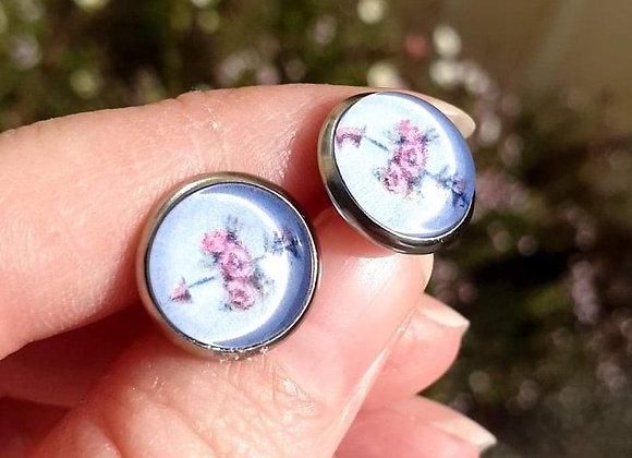 'Strength' Handmade Studs Earrings