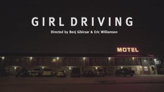 Girl Driving trailer
