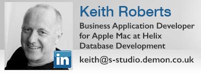 Keith Roberts Apple Mac Helix Database