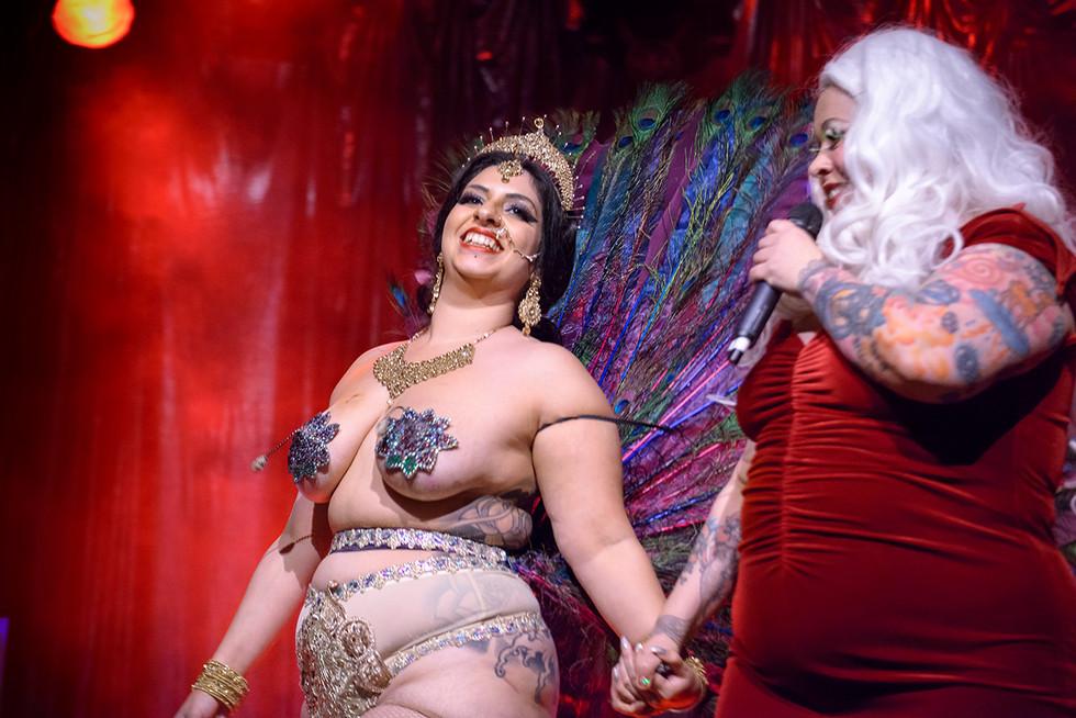 Misty Lotus & Bettie Blackheart