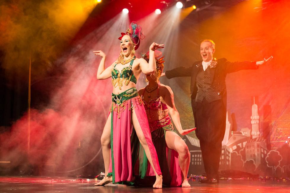 Finnish Blonde Burlesque Troupe