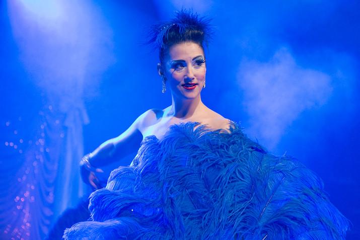 Miss Indigo Blue