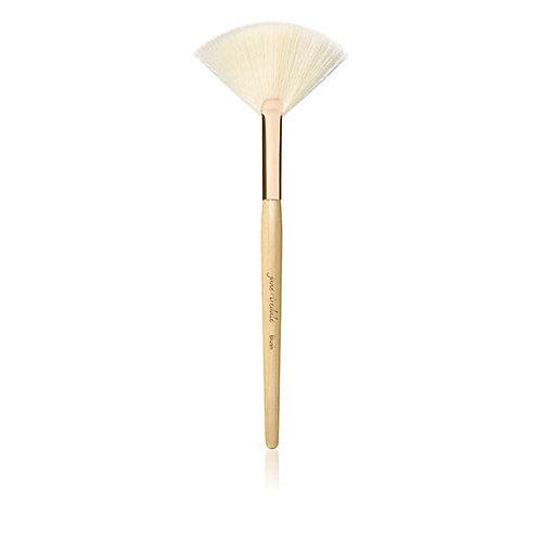 Blush - White fan brush