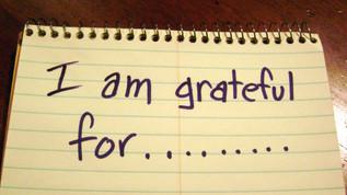 Take Time to Be Grateful