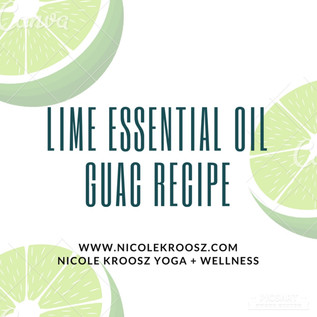 Essential Oils in yourGuacamole!