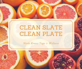 Clean Plate, Clean Slate – Happy New Year!
