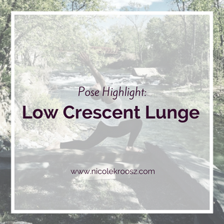Pose Highlight - Low Crescent Lunge