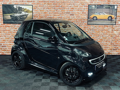 Smart fortwo ii (2) coupe brabus xclusive 75 kw softouch 102 pack ultimate 451