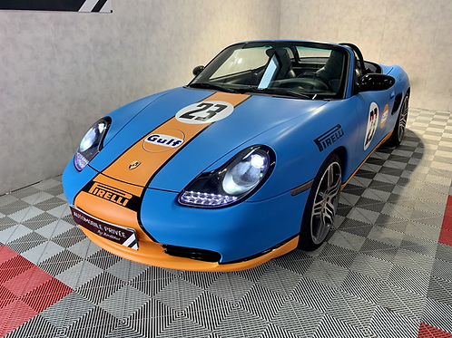 Boxster 2.7 228ch (986) covering couleurs GULF
