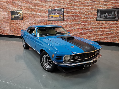 Ford mustang fastback mach1 1970
