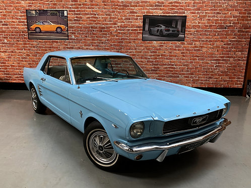 Ford Mustang 289 Ci V8 4.7l Code A