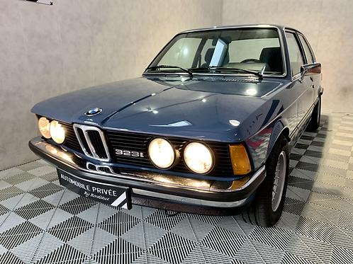 BMW série 3 E21 323i  teinte Biscayablau 1979- RARE - Française -2eme Main