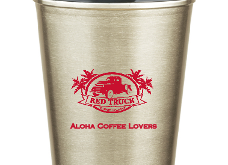 Dual Wall Stainless Tumbler with Straw - 16 oz.
