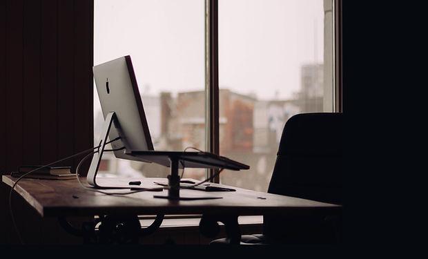 Janela Mesa de escritório