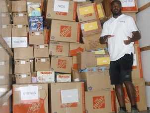 Helping Dorian victims in Bahamas