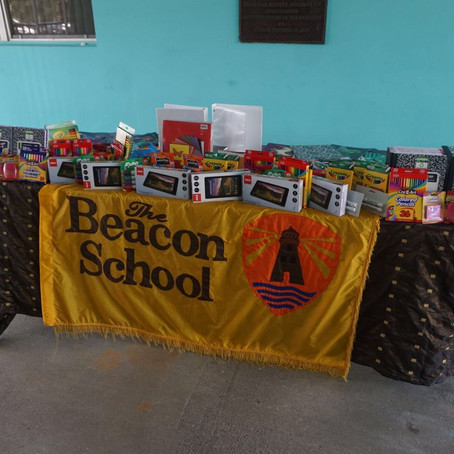 U.S. Embassy Donates School Supplies to The Beacon School