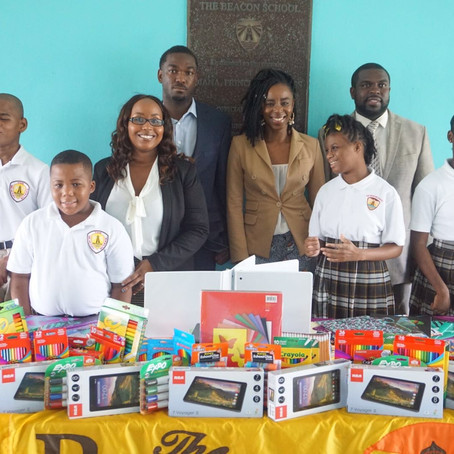 Beacon School students get into technology