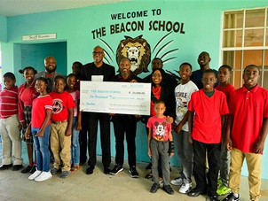 $10K donation to assist Beacon School students