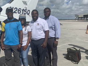City of Miramar Commissioner Maxwell Chambers Visits Grand Bahamas to Deliver Donated Items