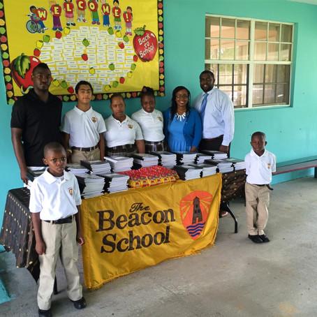 $5K Donated to The Beacon School