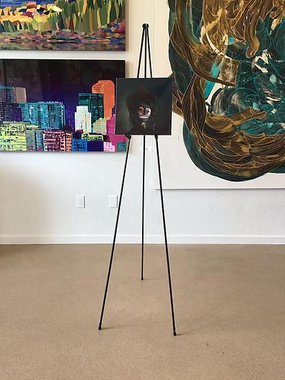 "'ETHEL'  12""x12""  Original Oil on Canvas"