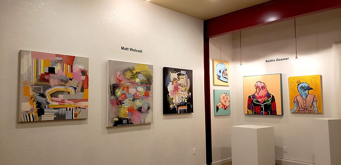 Kowen Gallery presents Matt Wolcott & Ka