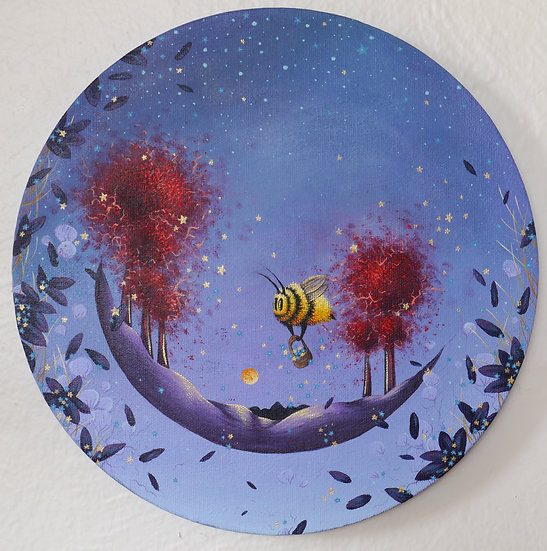 Bee and the Red Trees