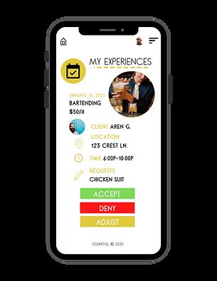 Fountful Marketplace app