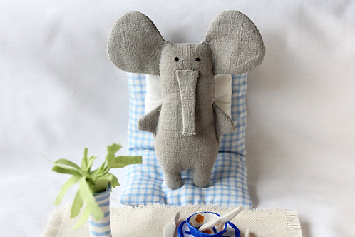 Sweet Gray Elephant