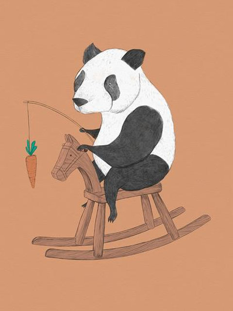 Ilustração Panda