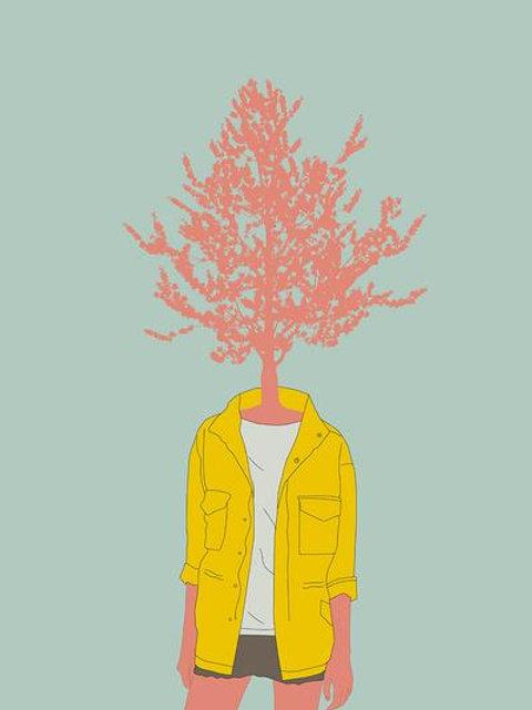 Ilustração Woman Nature 4