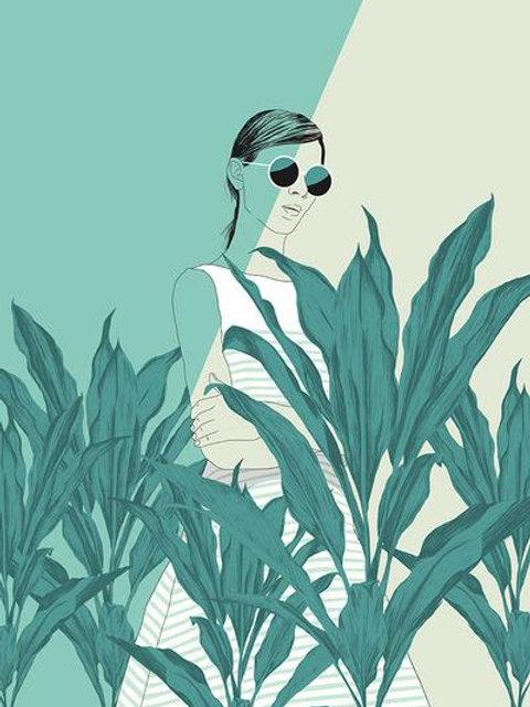 Ilustração The Blue Nature