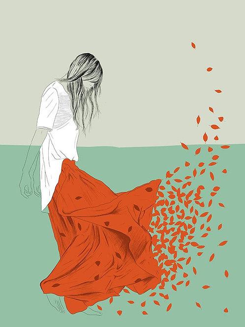 Ilustração Woman Color 9