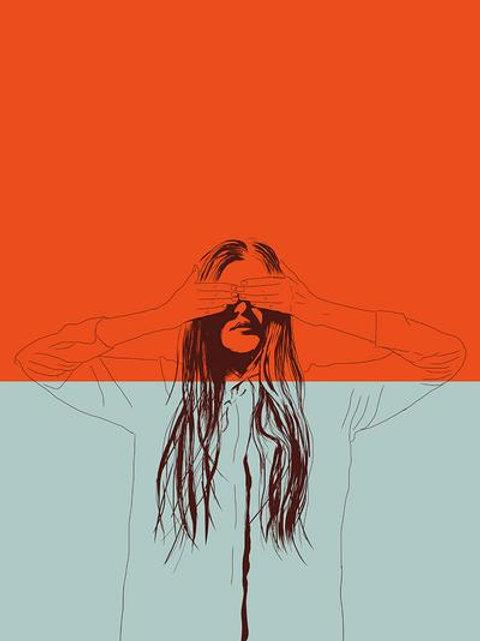 Ilustração Woman Color 2