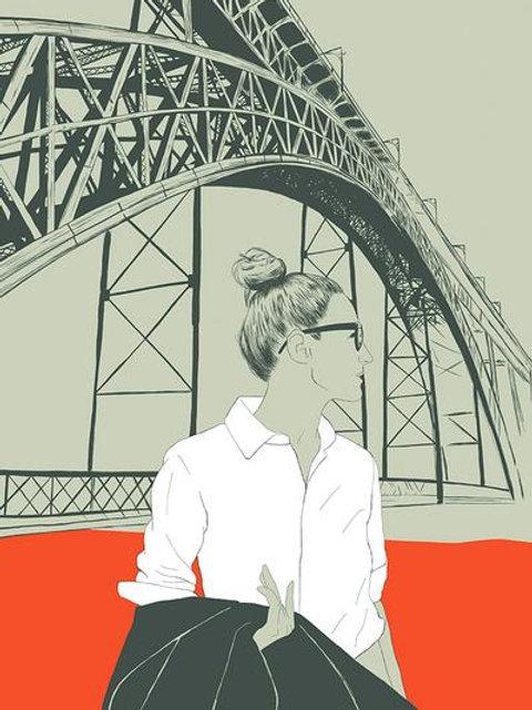 Ilustração The Bridge