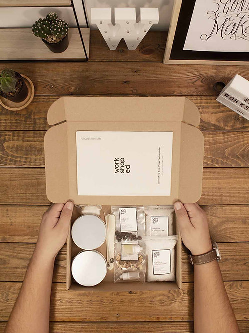 Workshop Box: Velas Aromáticas