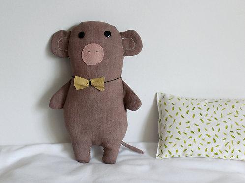 Big Monkey With Bow Tie