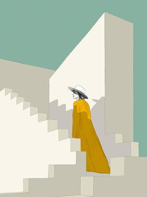 Ilustração White Stairs