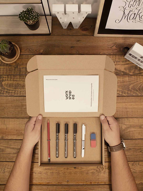 Workshop Box: Caligrafia