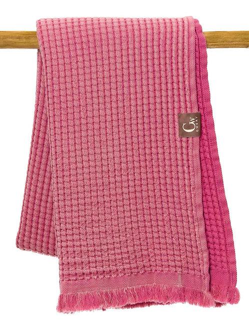 Toalha de Praia Passion Pink Honeycomb